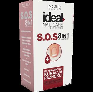 Ingrid_Ideal Nail Care_odżywka do paznokci 8w1, 7 ml