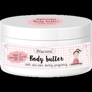 Nacomi_intensywnie regenerujące masło do ciała dla kobiet w ciąży, 100 ml