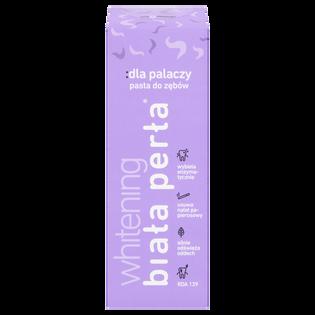 Biała Perła_Whitening_pasta do zębów dla palaczy, 75 ml