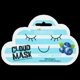 Bielenda_Cloud Mask Merry Berry_bąbelkująca maseczka detoksykująca do twarzy, 6 g