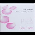 Feel Free Cosmos Rose & Berries Aqua Bouncy Mask