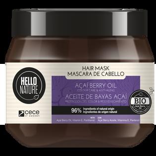 Hello Nature_Olej z jagód acai_maska do włosów, 250 ml