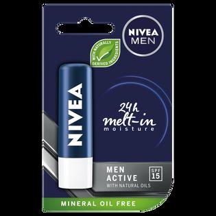 Nivea Men_Active_pomadka ochronna do ust męska, 4,8 g