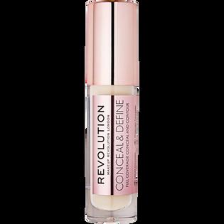 Revolution Makeup_Conceal & Define_korektor w płynie do twarzy C1, 3,4 ml_1