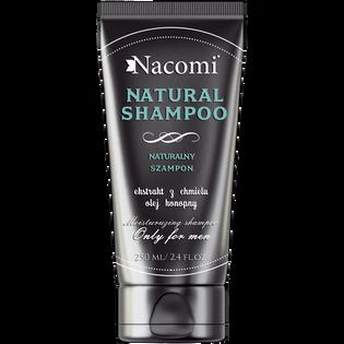 Nacomi_Natural_szampon do włosów, 200 ml