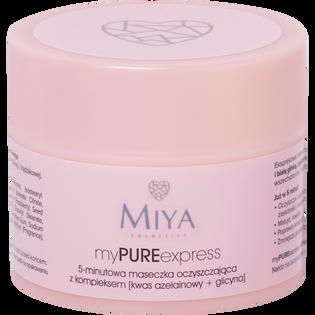 Miya Cosmetics_5-minutowa maseczka oczyszczająca z kompleksem z kwasem azelainowy i glicyną, 50 g_1