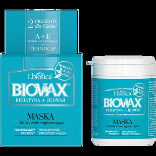 L'Biotica_Biovax_maska do włosów z keratyną i jedwabiem, 250 ml