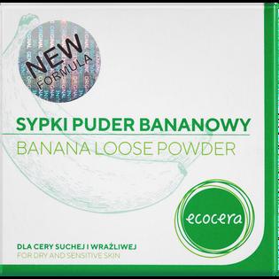 Ecocera_bananowy puder sypki do cery suchej i wrażliwej, 8 g_2
