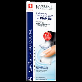 Eveline Cosmetics_Nail Therapy Professional_odżywka do paznokci utwardzająca z diamentami, 5 ml_2