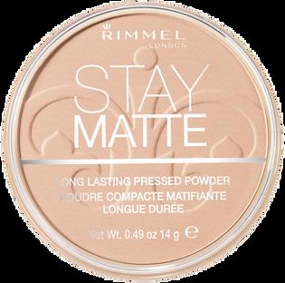 Rimmel_Stay Matte_puder prasowany do twarzy peach glow 003,014 g