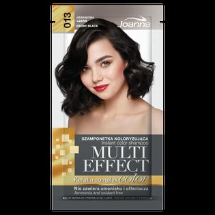 Joanna_Multi Effect Color_szamponetka koloryzująca 013 hebanowa czerń, 35 g