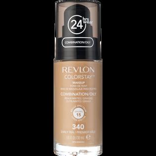 Revlon_Colorstay_podkład z pompką do cery tłustej i mieszanej early tan 340, 30 ml