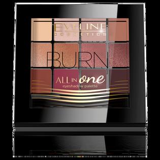 Eveline_All in One_paleta cieni do powiek burn, 12 g