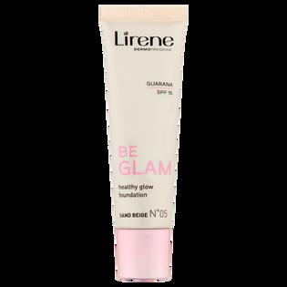 Lirene_Be Glam_rozświetlający podkład do twarzy sand beige 05, 30 ml