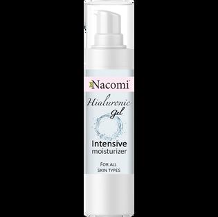 Nacomi_żelowy krem-serum do twarzy z kwasem hialuronowym, 50 ml