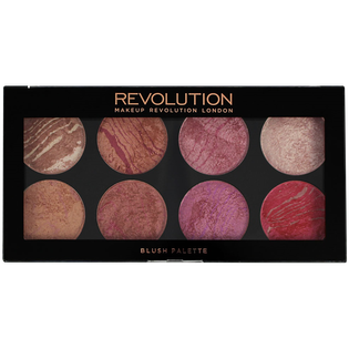 Revolution Makeup_Ultra Blush Palette_paleta róży do policzków blush queen, 13 g_1