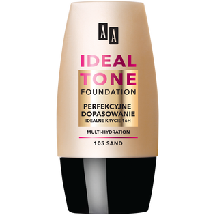 AA_Make Up Ideal Tone_podkład do twarzy sand 105, 30 ml
