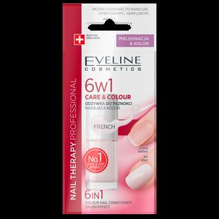 Eveline_6w1 Care&Colour_odżywka do paznokci nadająca kolor french 6w1, 5 ml_2