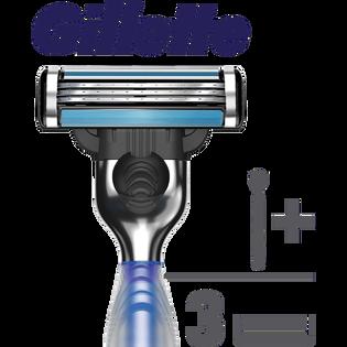 Gillette_Mach3 Start_rączka do maszynki do golenia, 1 szt. + wkłady 3 szt./1 opak._4