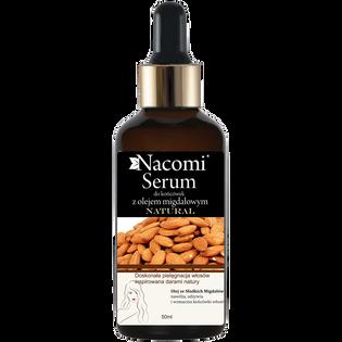 Nacomi_serum na końcówki z olejem migdałowym do włosów słabych i suchych, 50 ml