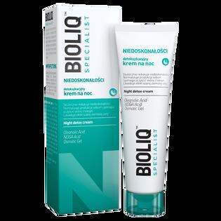 Bioliq_Specialist_krem detoksykujący niwelujący niedoskonałości na noc, 30 ml