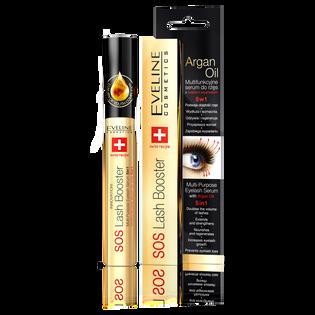 Eveline_SOS Lash Booster 5w1_serum do rzęs z olejkiem arganowym, 10 ml