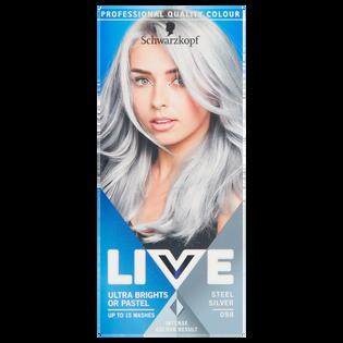 Schwarzkopf_Live_farba do włosów 098 steel silver, 1 opak.