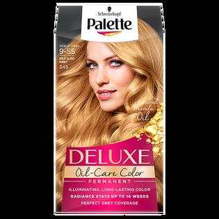 Palette_Deluxe Oil-Care_farba do włosów 345 złoty świetlisty miodowy blond, 1 opak.