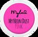 Mylaq_My Neon Dust Pink_pyłek do zdobienia paznokci, 1 opak._1