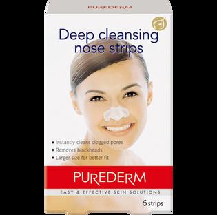 Purederm_plastry oczyszczające na nos, 6 szt./1 opak.