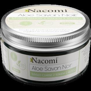 Nacomi_Aloe Savon Noir_mydło czarne z sokiem z aloesu, 125 g_2