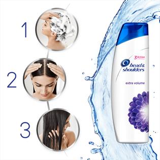 Head & Shoulders_Extra Long Product Title_przeciwłupieżowy szampon do włosów zwiększający objętość, 400 ml_3