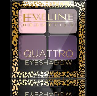 Eveline_Quattro_paleta cieni do powiek 13, 5 g