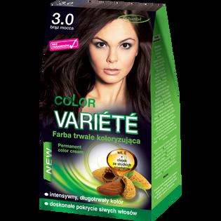 Color Variete_Brąz mocca_farba do włosów 3.0 brąz mocca, 1 opak.