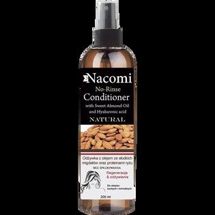 Nacomi_odżywka do włosów z olejem ze słodkich migdałów i proteinami ryżu, 200 ml