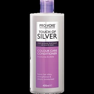 Provoke_Touch of Silver_odżywka do włosów w chłodnych odcieniach blondu, 400 ml