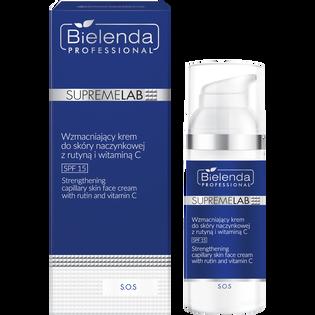 Bielenda Professional_SupremeLab_wzmacniający krem do skóry naczynkowej z rutyną i witaminą C, 50 ml