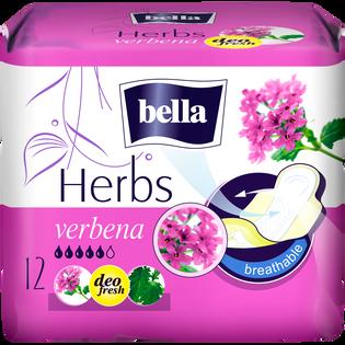 Bella_Herbs Verbena_podpaski higieniczne, 12 szt./1 opak.