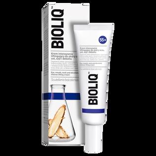Bioliq_55+_krem intensywnie liftingujący do skóry oczy/usta/szyja/dekolt 55+,  30 ml