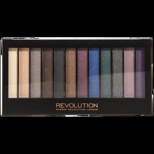 Revolution Makeup_paleta cieni do powiek smoked, 14 g
