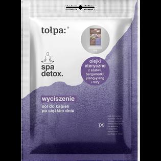 Tołpa_Spa Detox Wyciszenie_sól do kąpieli po ciężkim dniu, 60 g