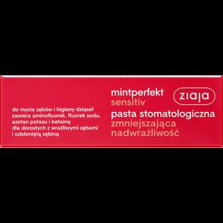 Ziaja_Mintperfekt Sensitiv_pasta do zębów zmniejszająca nadwrażliwość, 75 ml