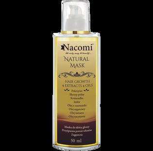 Nacomi_naturalna maska do skóry głowy, 50 ml