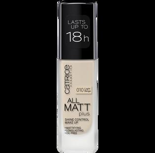 Catrice_All Matt Plus_podkład do twarzy light beige 010, 30 ml_1