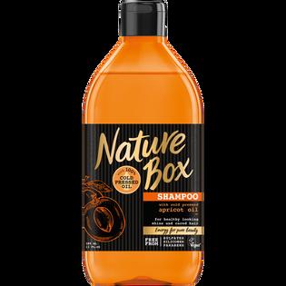 Nature Box_Morela_szampon do włosów z olejem z moreli, 385 ml