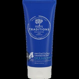 Treets Traditions_Revitalising Ceremonies_zestaw: lotion do ciała, 50 ml + żel-krem do mycia włosów i ciała, 200 ml + pianka pod prysznic, 200 ml_3