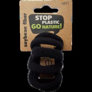 Elite_Stop Plastic Go Nature!_gumki-frotki do włosów, 10 szt./1 opak.