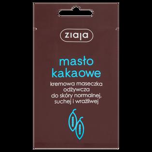 Ziaja_Masło kakaowe_kremowa maseczka odżywcza do twarzy, 7 ml