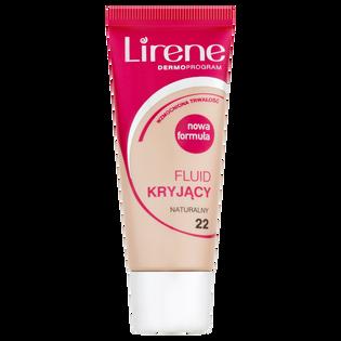 Lirene_Kryjący_podkład do twarzy naturalny 22, 30 ml