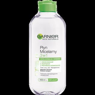 Garnier_Skin Naturals_płyn micelarny do skóry normalnej i mieszanej, 400 ml